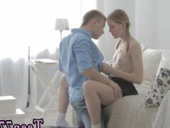 Busty short hair teen and sex and submission blonde full length Eva