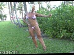N.S.E. She Muscle Posing