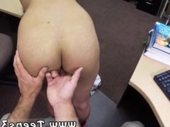 Pussy pawn College Student Banged in my pawn shop!