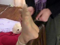 Chinese Nylon Tickling