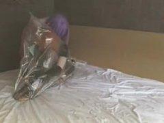 Kigurumi maid breathplay vacuum