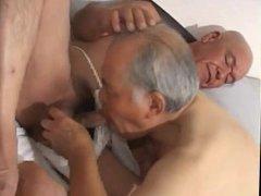 Japanese old man 89
