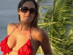 WWE Divas Nikki Bella & Natalya In Bikinis