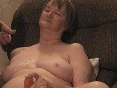 Shooting a load on Jans TITS