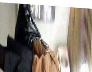 black pantyhose upskirt metro