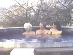 SWEDISH EROTICA Friendly Hot Tub & Super Secretary with Desiree Cousteau