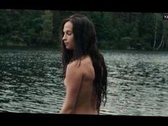 Alicia Vikander - Public nudity, Naked Swimming - Kronjuvelerna (2011)