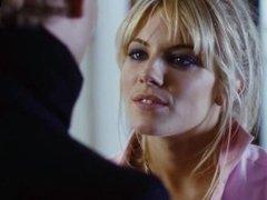 Sienna Miller - Showing her perky boobs - Alfie (2004)