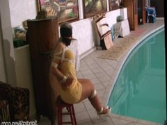 Sandra Silvers Bound in a pool