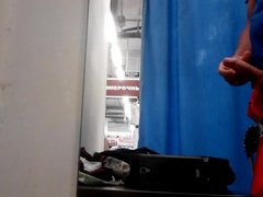 Flash Dick Fitting Changing Room