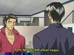 Hentai gay twink hardcore anal sex pleasure