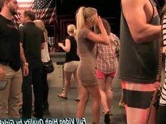 Staci blonde amateur solo public flashing pus