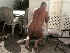 WORKING NUDE OUTDOORS #2