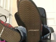 Teasing My Shoes, Socks and Soles