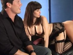 3 Hot MILFs Share A Big Hard Cock!