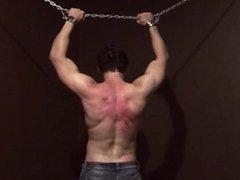 punished boy flogging