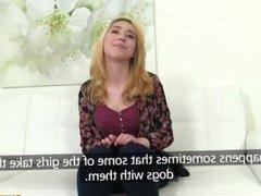 [FakeAgent] Andrea (Shy Student Fucks in Casting)