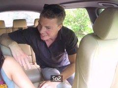 [FemaleFakeTaxi] Vanessa Decker (Good Pussy Licking Pays Euro Taxi)