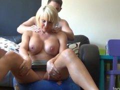 P3 - Step Mom needs a massage with no panties