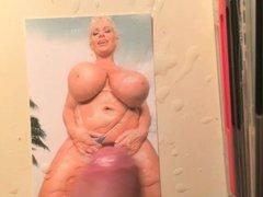 Claudia Marie big boobs cum tribute