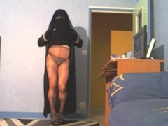musulmane menstruée en collant