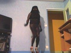 gros cul de musulmane en leggings