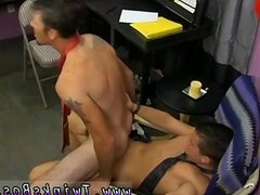 Handsome young cock hard on up high gay He