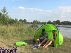 Lelulove lipstick blowjob Eveline getting plumbed on camping site