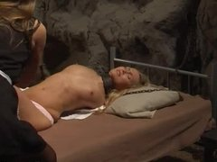 Lesbian slave in the hands of mistress
