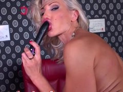 Puma Swede Gets off with Bejeweled Dildo!