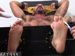 Gay foot slave galleries and gay young foot boy Alessio Revenge Tickled