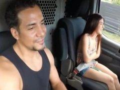 Novinha foi pedir carona pro caminhoneiro e olha no que deu