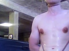Neighbor finally gets revenge on hunk and dominates his 8.5 inch dick
