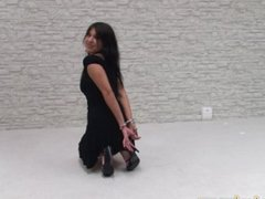 GIS__Germam Cutie tied up Hogtied with Cuffs