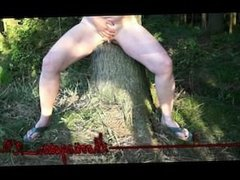 Shootingstar_X -peeing in the forest- preview