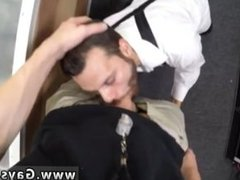 Straight cums in gay ass This boy walks in trying to sell us a bugle for