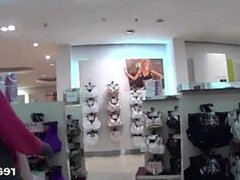 Enchanting czech chick is seduced in the mall and fucked in pov