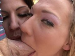 Nikki Sexx & Lylith LaVey POV Blowjob/Tittyfuck