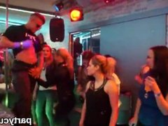 Kinky chicks get absolutely crazy and undressed at hardcore party