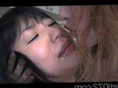 japan face licking