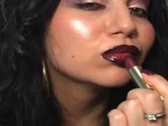 Mirror Lipstick Kisses