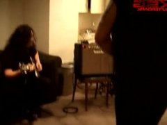 Al Jourgensen gets strippered and show off his ass
