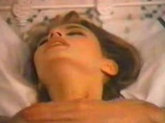 """Bad Girls IV"" (1986) scene 2 Lauren Wilde masturbates for Ron Jeremy"