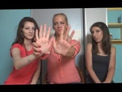 short girl with big 8 inch hands comparison
