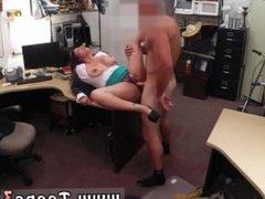 School bus blowjob MILF sells her husband's stuff for bail $$$