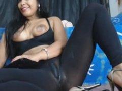 colombiana slut bien arrecha con ohmibod OMEGLE