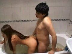 Homemade Sextape Russian Couple Super Hot Fun in Bathroom