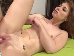 LaCochonne - Slutty French getting anal fucked hard and fast