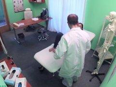 FULANAX.COM - Jimena Lago Spanish patient gets creampied