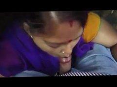 Indian Maid blow job at office